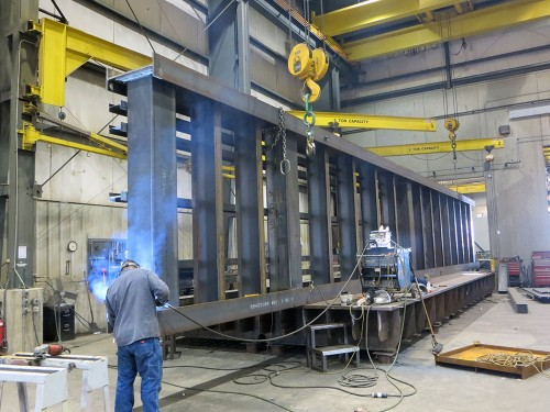 beam structural fabrication