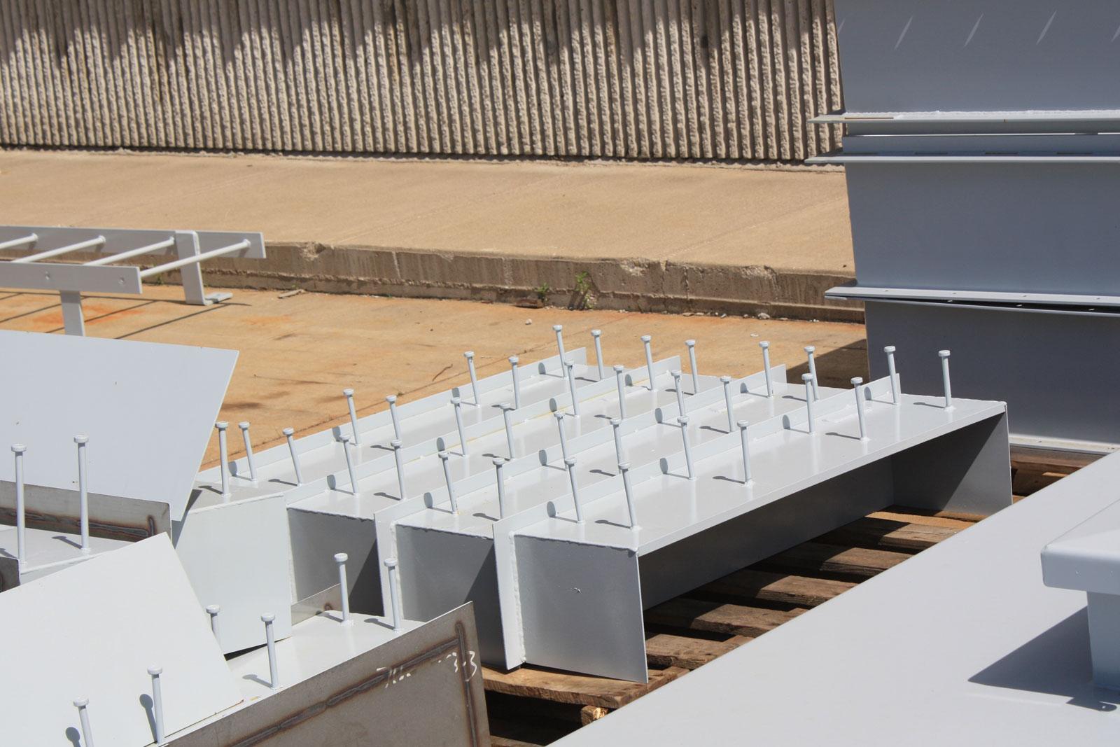 ladders - platforms- steel openings